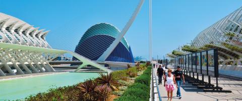 Fordi Franco ikke fikk viljen sin, er Valencia i ferd med � bli en av Europas heteste storbyer