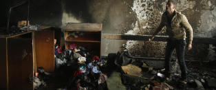 FN: - Israel drepte 44 palestinere p� FN-grunn