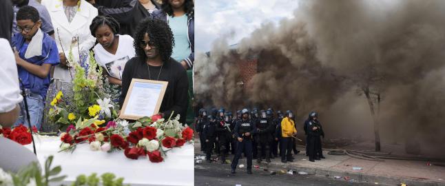 Begravelsen som endte i vilt kaos: �Kjeltringer�