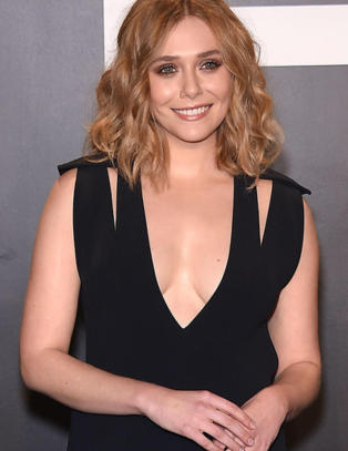 Elizabeth Olsen er ikke redd for � gj�re nakenscener