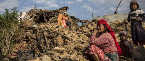 FN: Jordskjelvet rammer �tte millioner mennesker