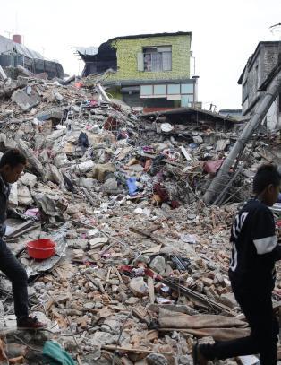 - Jordskjelvet tilsvarte 712 Hiroshima-bomber