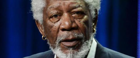 Morgan Freeman: - Faen ta media