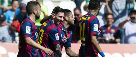 Messi sendte klar beskjed til Ronaldo da Barcelona vant 8-0 borte
