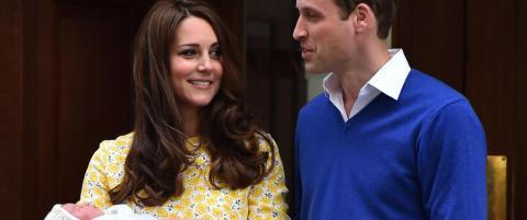Her viser de fram sin nye prinsesse