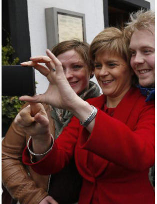 �Selfiedronning� kan velte Cameron
