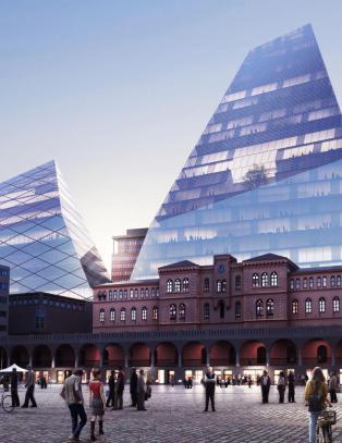 En monsterblokk i Oslo sentrum kan bli et ekko av en d�rlig dag i landets historie