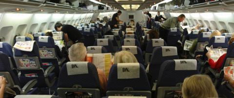 Fulle passasjerer verre enn barn som hyler
