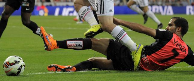 Almeria tok viktig poeng, men kan rykke ned etter kj�p av dansk forsvarsspiller