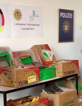 Oppdaget kokain verdt 120 mill. i tyske butikkers banan-forsendelser ved en tilfeldighet