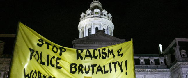 Oppt�yene i Baltimore kan b�re bud om ei bedre framtid