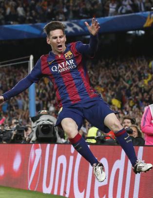Messi-magi rev Bayern M�nchen i filler