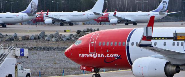 Piloter sa opp sikre jobber - n� setter Norwegian dem p� gata