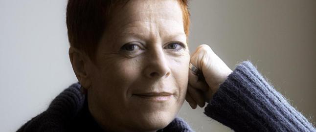Det mest oppsiktsvekkende med Wencke M�hleisen (61) er ikke at hun malte underlivet r�dt p� scenen