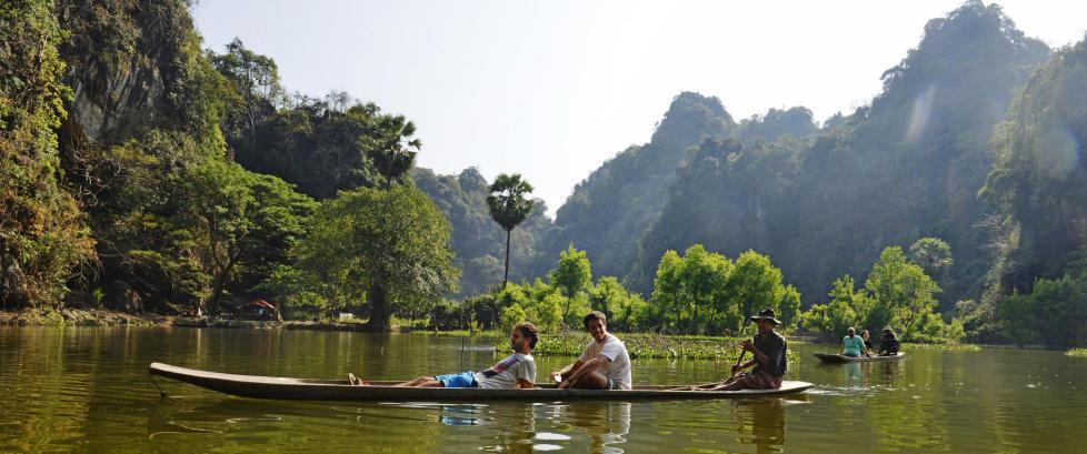 Plutselig skal �alle� til Myanmar, men reiser du riktig vei m�ter du fortsatt f� turister