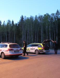 Pose med fenghetter funnet i skogen ved Oslo