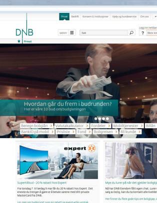 DNB: N� er problemet md � komme inn p� nettsida l�st