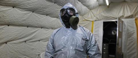 - V�peninspekt�rer har funnet sarin og spor etter nervegass i Syria