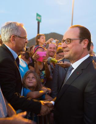 Hollande rekker Cuba f�r amerikanerne