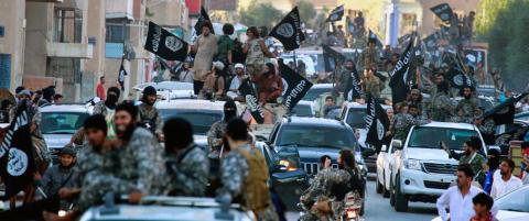 Islamistegrupper har n� krigere fra over halvparten av verdens land