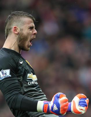 Ellevill redning hjalp United til viktig seier: - Oi oi oi, for en keeper!