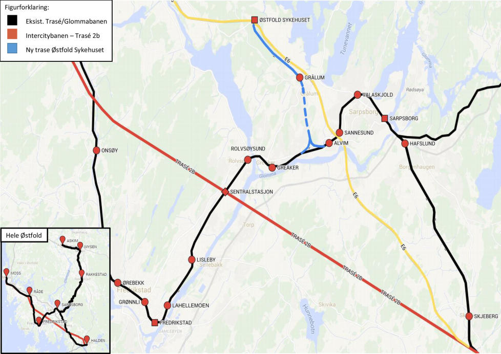Dobbeltspor østfoldbanen
