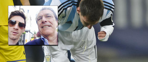 Denne legen har f�tt Messi til � slutte � spy
