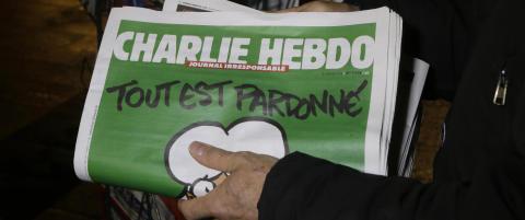Ny dokumentarfilm om Charlie Hebdo