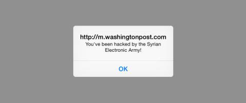 Amerikansk storavis hacket av �Den syriske elektroniske arm�