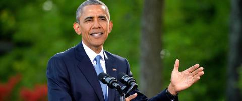 Obama med 17.mai-hilsen: - Norges mot inspirerer verden