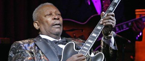 Blues-legenden B.B. King er d�d