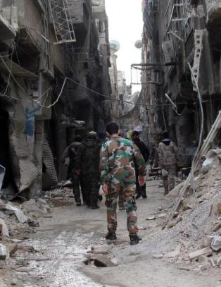 IS-styrker n�rmer seg UNESCO-verna oldtidsby
