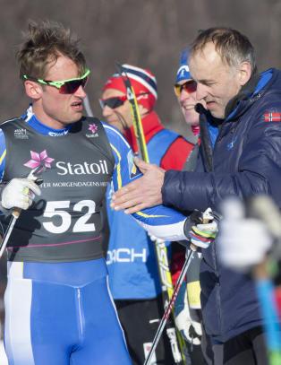 Nye m�ter mellom Northug og skiforbundet: - Meget godt forn�yd med situasjonen