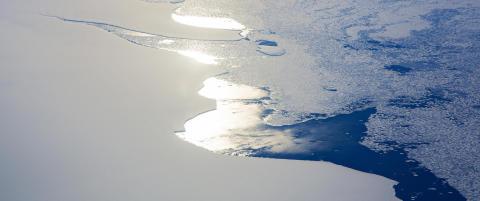 Isbre p� st�rrelse med Vestfold fylke vil kollapse i Antarktis