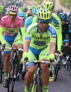 Contador mistet rosa etter krasj