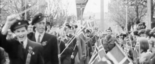 Jubelscener 17. mai 1945