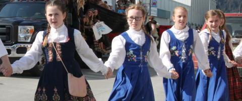 I Petersburg i Alaska har de feiret 17. mai i fire dager
