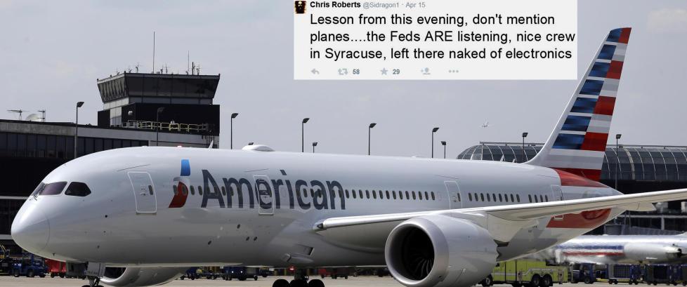 FBI: - Han hacket seg inn i flyets datasystemer og endret flyets kurs