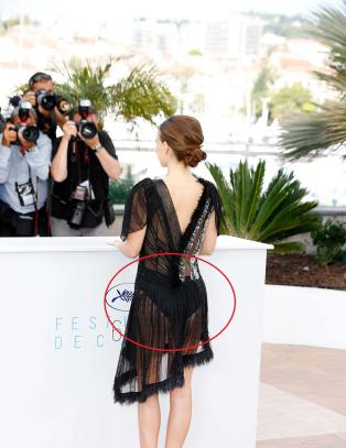 Viste baken til Cannes-publikummet