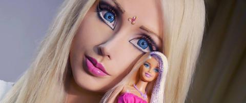 �Den menneskelige Barbie-dokka� innr�mmer redigering
