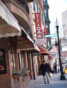 Her er arkitekturen, kulturen og maten italiensk, men du er faktisk i Boston