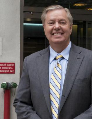 Lindsey Graham vil bli USAs neste president