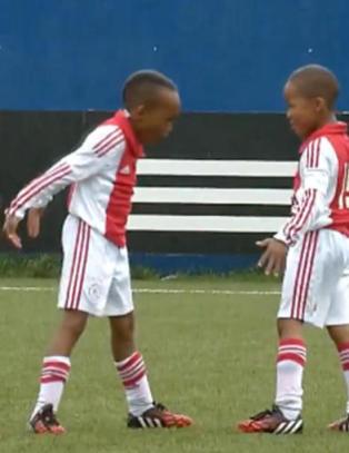 Ajax-barna kopierer Bale og Ronaldos m�lfering