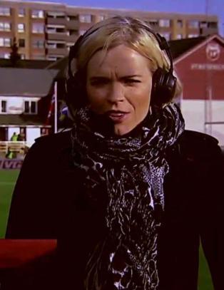 NRK-profil Carina Olset �pen om at hun b�sja i buksa p� direkten