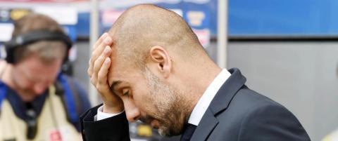 Br�k p� Bayern-trening. To spillere sendt i garderoben av Guardiola