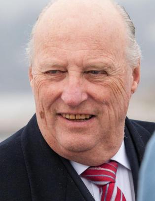 Kong Harald til USA for � f� vite mer om klimaforandringer