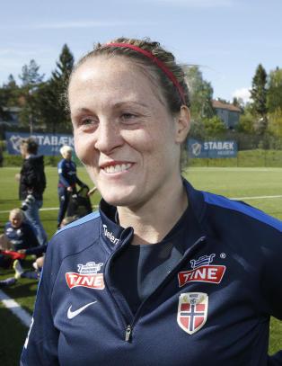 Herlovsen om � spille sin 100. kamp for Norge