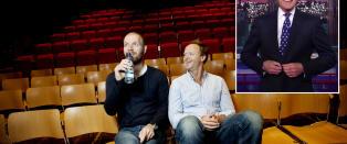 B�rd og Harald hyller Letterman: - Han var smart og teit samtidig