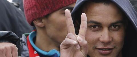 Her ankommer marokkaneren Italia i flyktningb�t. �n m�ned etter skal han ha hjulpet museumsterroristene som drepte 21 mennesker