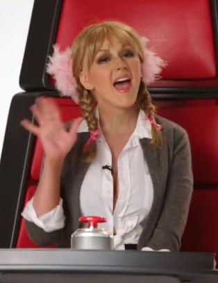 Slik parodierer Christina Aguilera sin tidligere erkerival
